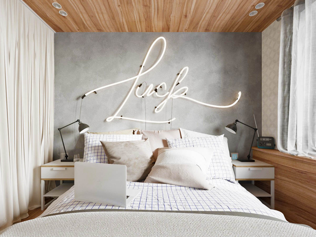 neon-typography-on-grey-best-accent-walls
